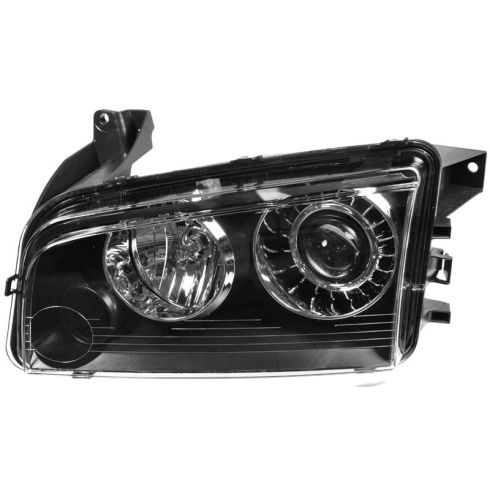08-10 Dodge Charger HID Headlight w/o Ballast LH