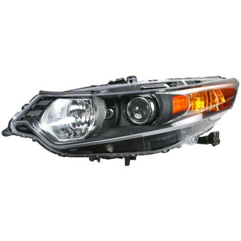 09-10 Acura TSX Headlight HID (w/o Ballast) LH