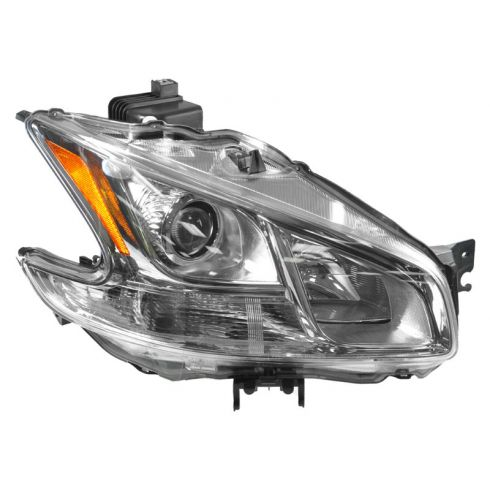 2009-11 Nissan Maxima Halogen Headlight RH