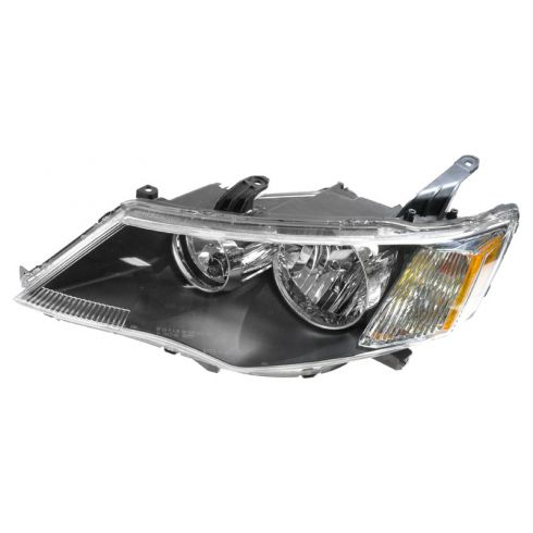 2007-10 Mitsubishi Outlander Halogen Headlight LH