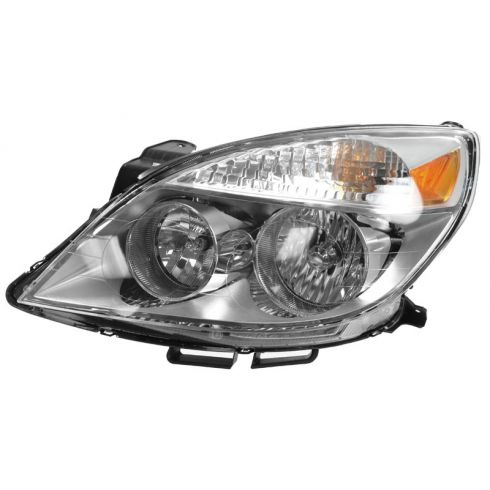 2007 (from 4/12/07)-10 Saturn Aura, -09 Aura Hybrid Headlight LH