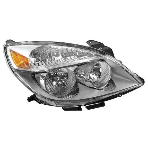 2007 (from 4/12/07)-10 Saturn Aura, -09 Aura Hybrid Headlight RH