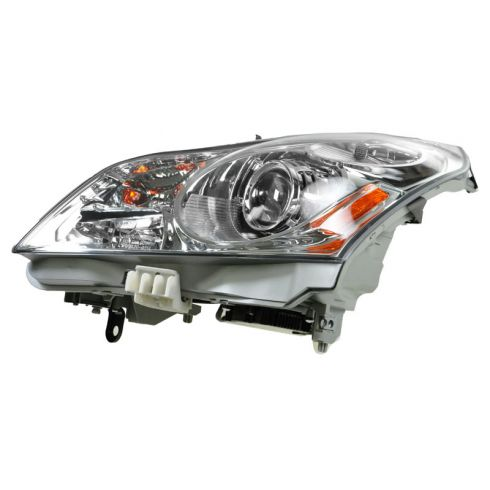 2007-08 Infinti G35; 09 G37 Sedan w/o Technology Pkg HID Headlight w/Bulbs & Ballast LH