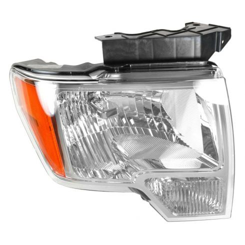 09 (fromt 03/02/09)-11 Ford F150 Headlight w/Chrome Trim RH