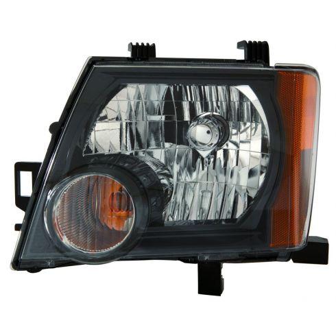 08 Nissan Xterra, 09-11 Xterra S, SE, Offroad Model Headlight LH