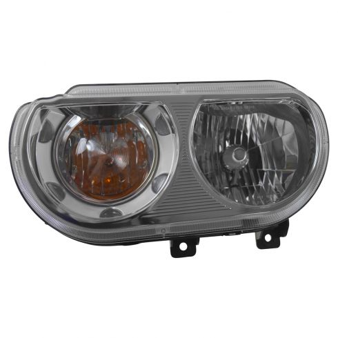 08-11 Dodge Challenger Halogen Headlight LH