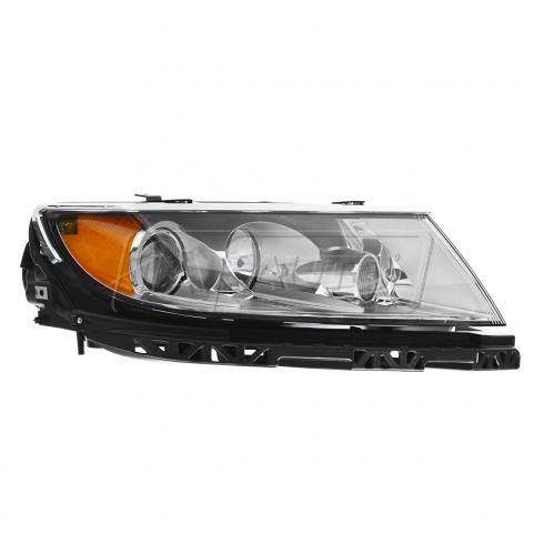 10-12 Lincoln MKZ Halogen Headlight (w/Clear Background) RH