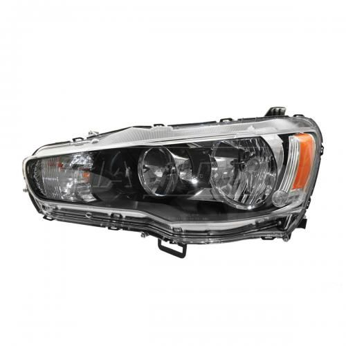 09 (from 11/08)-13 Mitsubishi Lancer Halogen Headlight LH