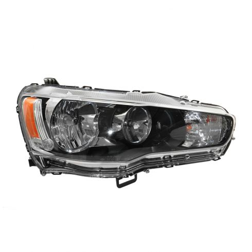 09 (from 11/08)-13 Mitsubishi Lancer Halogen Headlight RH