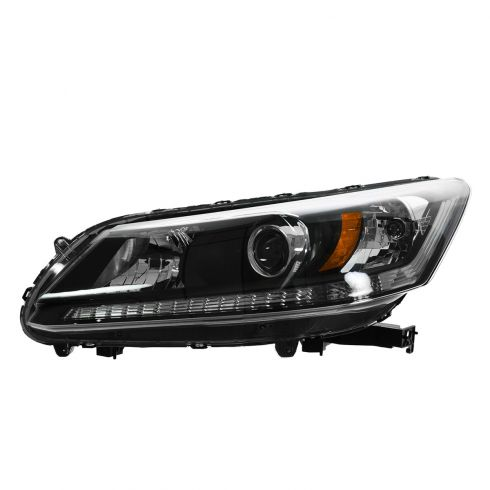 13 Honda Accord Sedan Halogen Headlight LH