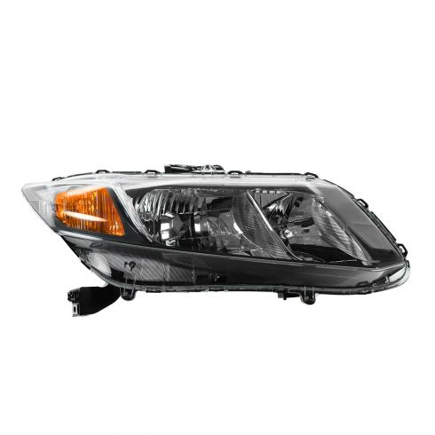 13 Honda Civic Sedan Halogen Headlight RH