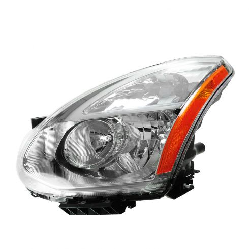 09-10 Nissan Rogue Halogen Headlight LF