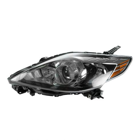 08-10 Mazda 5 Halogen Headlight w/Black Trim LH