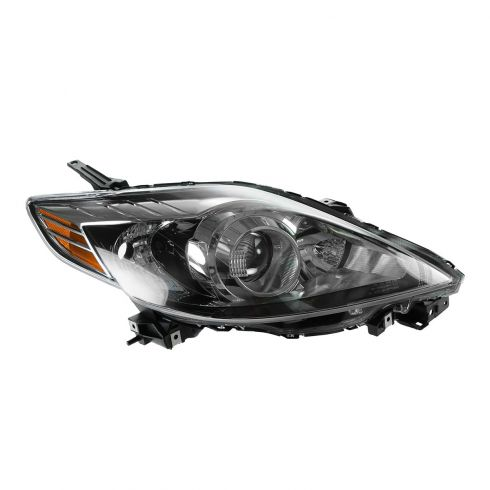 08-10 Mazda 5 Halogen Headlight w/Black Trim RH