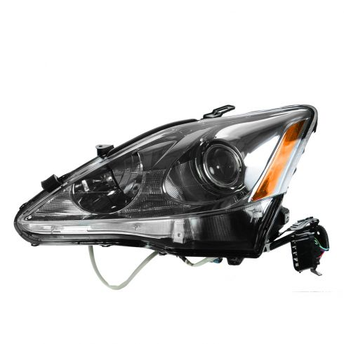 09 Lexus IS250, IS350; 10 IS250 Sedan, IS350 Sedan Halogen Headlight LH
