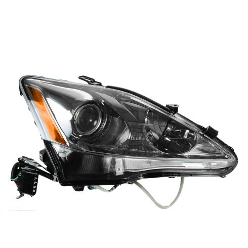 09 Lexus IS250, IS350; 10 IS250 Sedan, IS350 Sedan Halogen Headlight RH