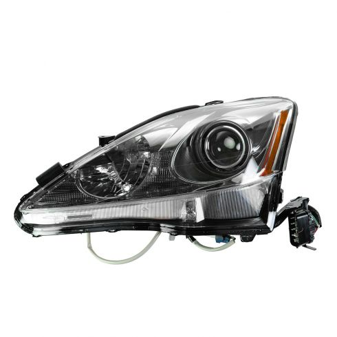 11-13 Lexus IS250, IS350 Sedan Halogen Headlight LH