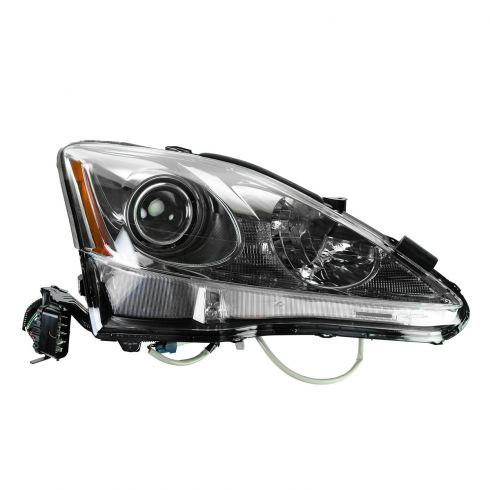 11-13 Lexus IS250, IS350 Sedan Halogen Headlight RH