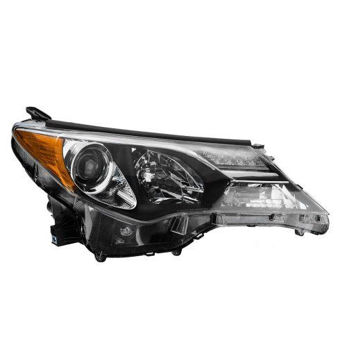 13 Toyota Rav 4 (Japan Built) w/Gas Engine Headlight RH