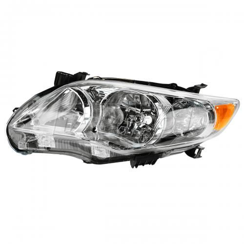 11-12 Toyota Corolla (exc XRS & S) (Japan Built) Headlight w/Chrome Housing LH
