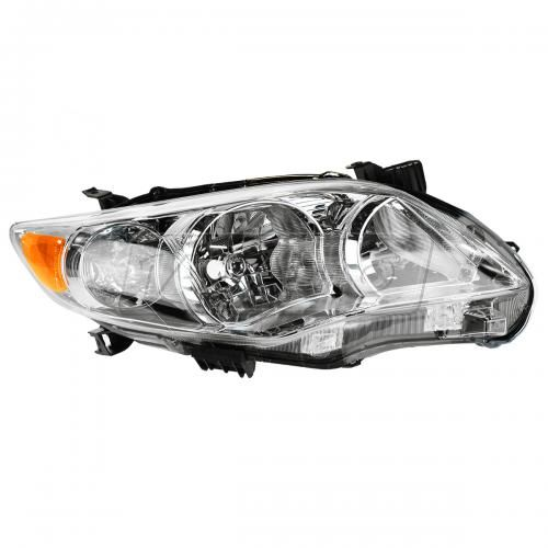 11-12 Toyota Corolla (exc XRS & S) (Japan Built) Headlight w/Chrome Housing RH