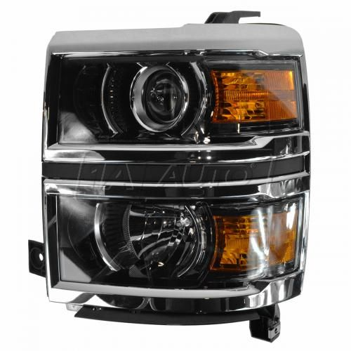 14-15 Chevy Silverado (LTZ, High Country) Halogen Projector Headlight LH
