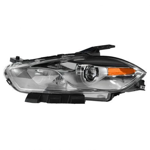13-14 Dodge Dart HID Headlight w/Chrome Bezel (w/o Bulbs & Ballast) LH