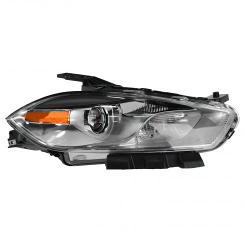 13-14 Dodge Dart HID Headlight w/Chrome Bezel (w/o Bulbs & Ballast) RH