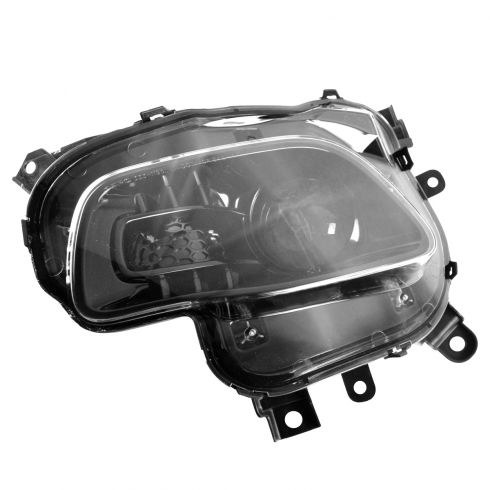 14-15 Jeep Grand Cherokee Halogen Headlight w/Black Trim LH