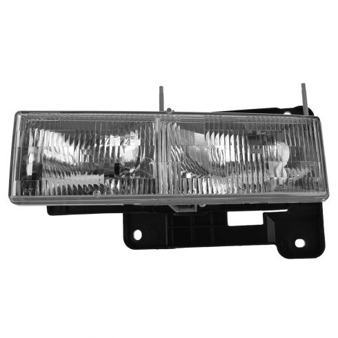 90-02 Chevy, GMC C/K PU; 92-99 Suburban, Yukon; 92-94 Jimmy; 95-00 Tahoe Composite Headlight LH (GM)
