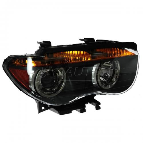 02-05 BMW 745i; 03-05 BMW 760i w/Amber TS Xenon Headlight RH (Hella)