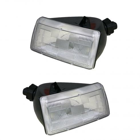 1991-95 Caravan Voyager Town & Country Headlights PAIR