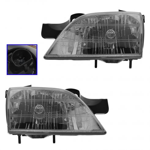 97-04 Venture Headlights PAIR