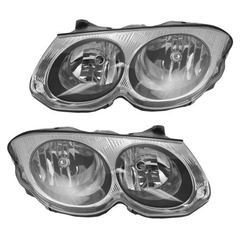 Headlight HALOGEN PAIR