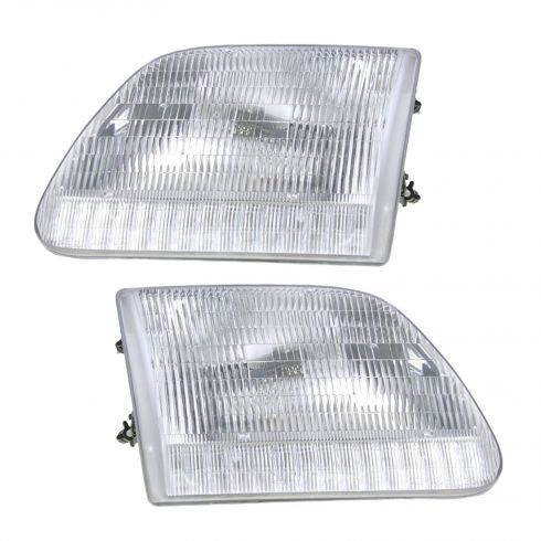 97-03 F150 Comp Headlights PAIR