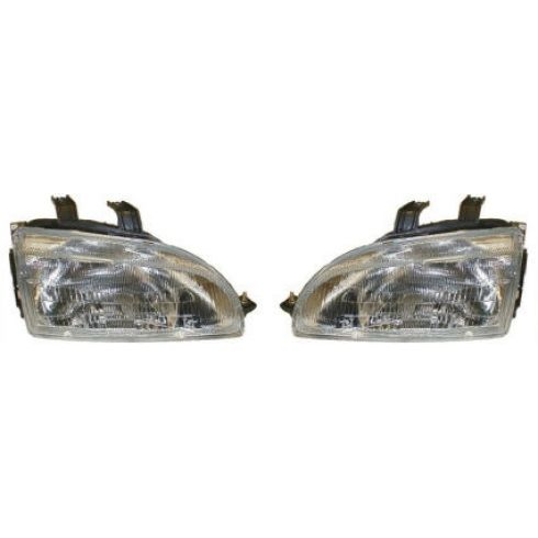 1992-95 Honda Civic Headlights Pair