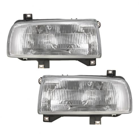 1993-99 Volkswagen Jetta Headlights Pair