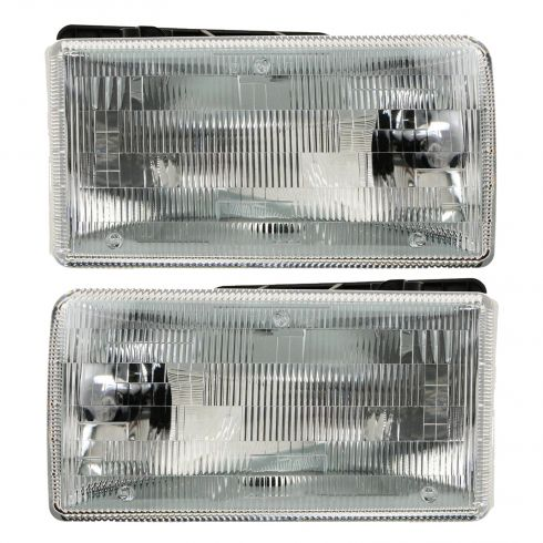 1991-96 Dodge Dakota Headlight Pair