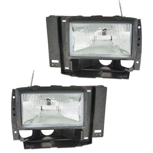 1991-94 Explorer Ranger Bronco II Headlight Pair