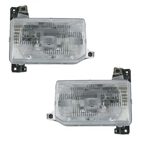 1987-95 Nissan Pathfinder Headlight Pair