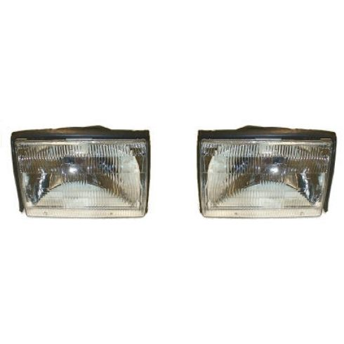 1987-93 Ford Mustang Headlight Pair