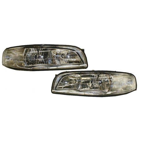 1997-99 Buick Lesabre Head Lamp Pair