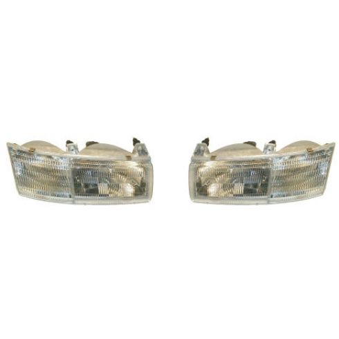 1992-95 Mercury Sable Headlight Pair
