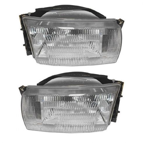 1993-95 Nissan Quest Mercury Villager Headlight Pair