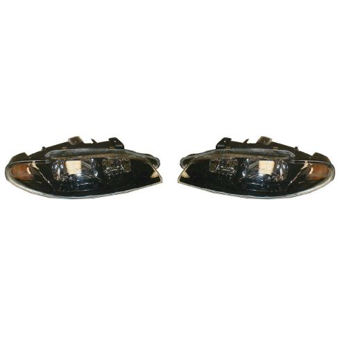 1997-99 Mitsubishi Eclipse Headlight Pair
