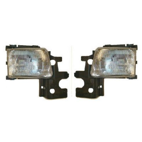 1994-97 Dodge Van Full Size Composite Headlight Pair
