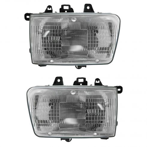 1990-95 Toyota 4Runner Composite Headlight Pair