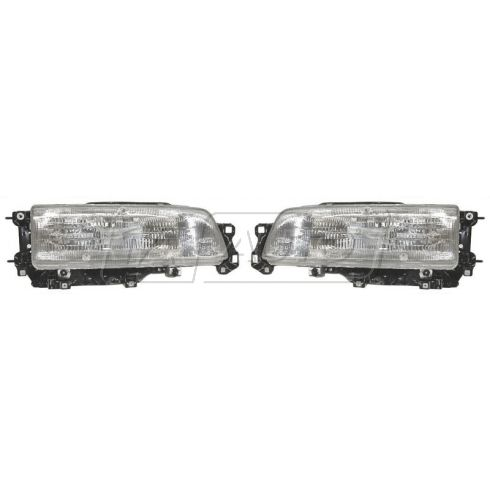 1987-91 Toyota Camry Composite Headlight Pair