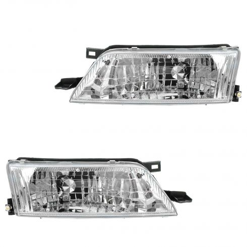 1997-99 Nissan Maxima Composite Headlight  Pair
