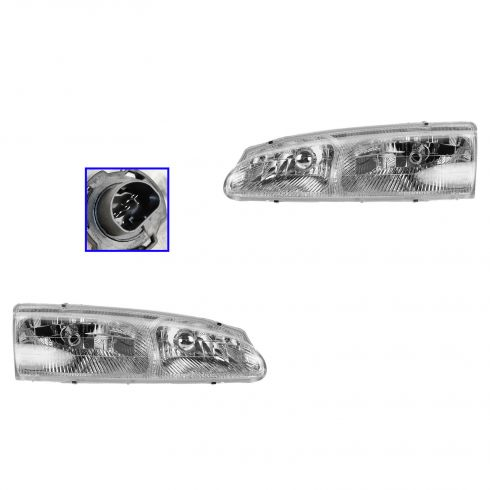 1996-97 Thunderbird Headlight Pair